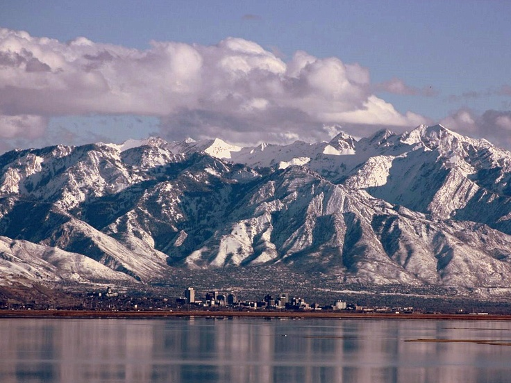 Beautiful Place And My Son Lives Here A Diffe View Salt Lake City Photo Taken From South East S Of Antelope Island In The Great
