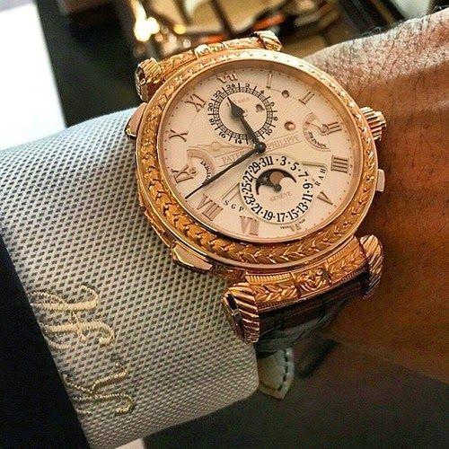 Patek Philippe Masterpiece  The Grandmaster Chime 5175R ~ Sense Of Luxury  92c5dc821fb