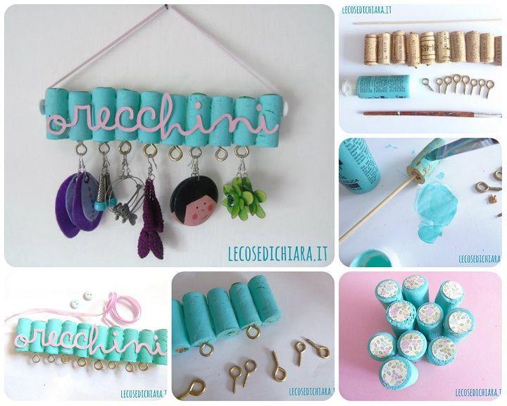 Favoloso Oltre 25 fantastiche idee su Gioielli appendere su Pinterest  TN14