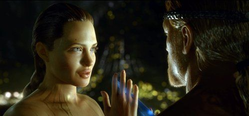 Angelina Jolie in Beowulf