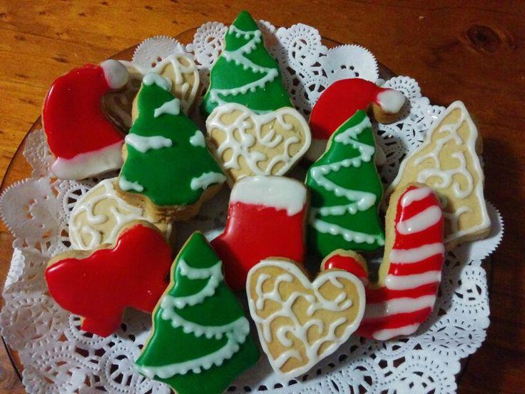 Christmas cookies by Effie