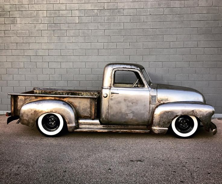 """""""Clear Kentucky Shine"""" Slam'd '50 Chevy Pickup FOR SALE! ~on eBay Now! www.ebay.com/itm/401181794089 Features: Amazing Solid Bare Metal Body, Hand Polished, Deep Cleared New Vintage Air Heat, Defrost and COLD AC! Fast 5.7 Fuel Injected Motor w/ Vortec Heads 700R4 Overdrive Transmission Slammed on Modern Chassis Four Wheel Disc Brakes Metal Flake Custom Interior and... Matching Metal Flake Coated Bed and Motor Parts! DETAIL ON THIS IS ABOVE AND BEYOND! Call/Text: 606-776-2886 Email…"""