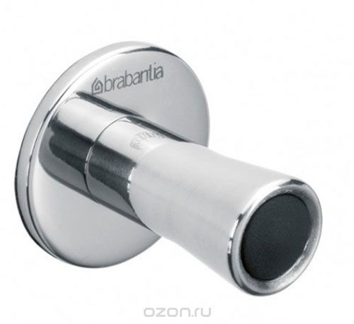 Крючки для полотенец Brabantia 2 шт, цвет: серебристый. 427404
