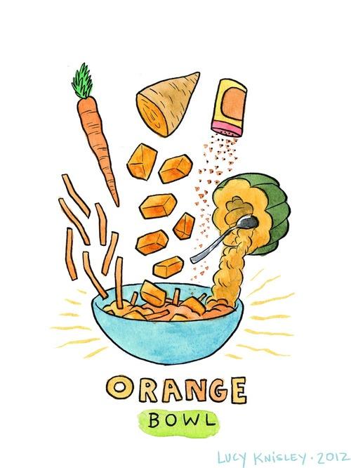 Crave This - Lucy Knisley illustration: Orange Bowl