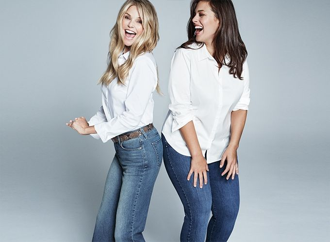 No matter what your size, you belong. You're gonna find a jean for you as though it's custom-made, that is guaranteed to make you feel great. The search is over. You just found your perfect fit.