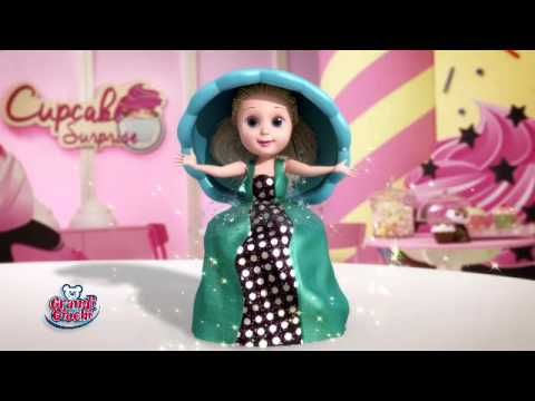 Cupcake Surprise, dolcetti profumatissimi che si trasformano in romantiche principesse tutte da collezionare!