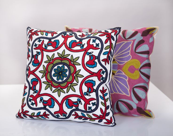вышивка на подушках #явф #вышивка #вышивканаподушках #интерьер