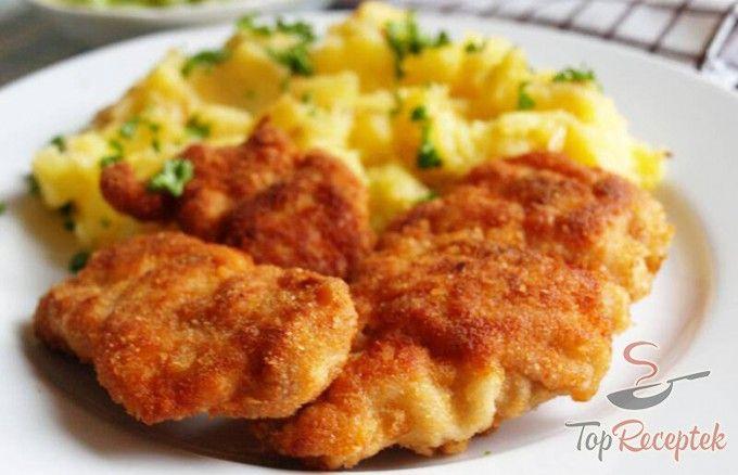 Fokhagymás rántott csirkecomb | TopReceptek.hu