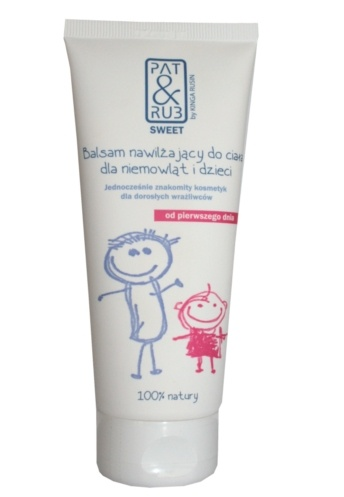 Moisturizing Body Balm for babies and newborns