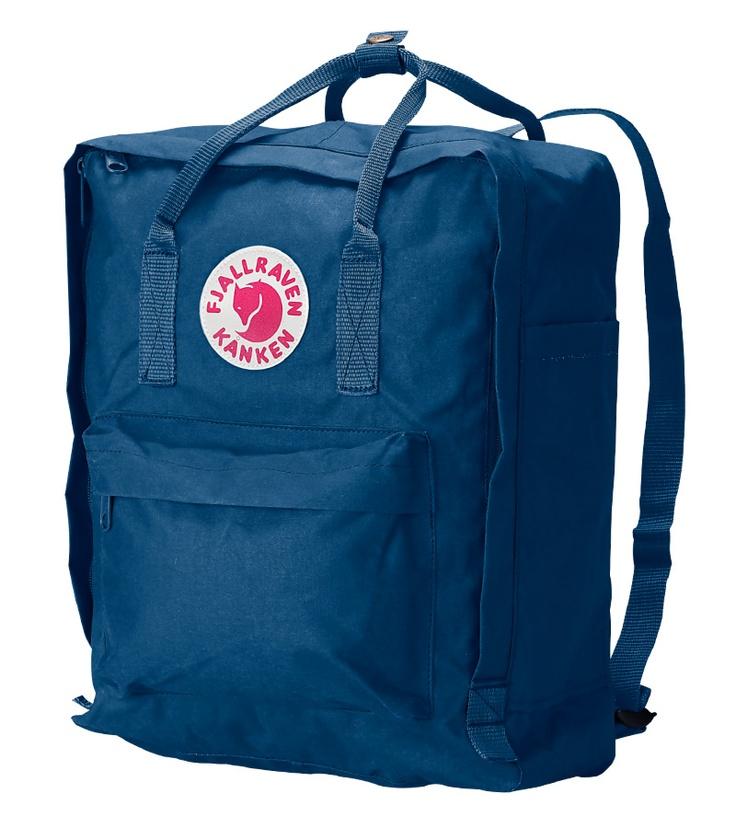 Fjallraven Classic Kanken Backpack Bag - Uncle Blue