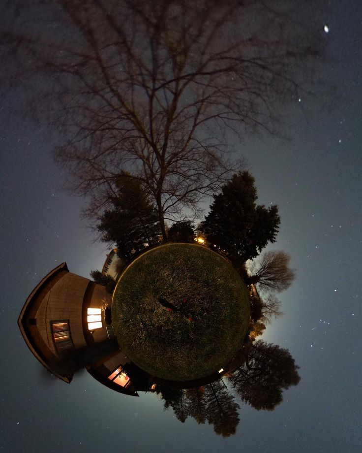 On instagram by ericadams321 #astrophotography #contratahotel (o) http://ift.tt/1RXBahe around--again--with the Ricoh Theta S 360 cam. This would be my back yard under a bright Moon with the constellation Orion hanging in the sky to the bottom right ...