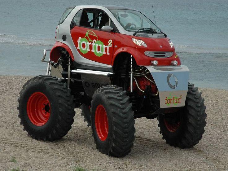The Smart Car Monster Truck Cars Smart My Son Loves Cars