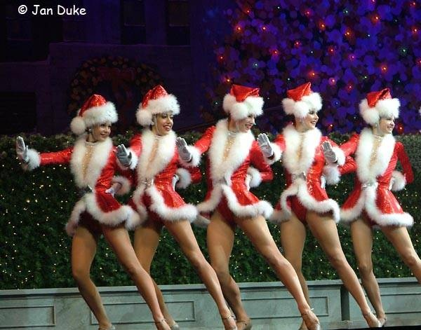 Rockettes at Christmas...one day I will see the Christmas show @ Rockefeller Center!