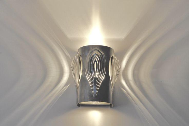 LAMPA kinkiet  STEEL PETALS - Archerlamps - Kinkiety