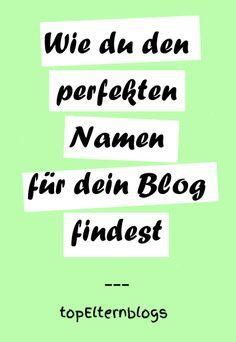 """Teil 2 der Serie """"Wie ein #Blog entsteht"""" Sehr, sehr wichtig ist die Entscheidung für einen Namen. Schließlich ist er nicht nur dein Aushängeschild, sondern auch der Begriff, unter dem du im World Wide Web gefunden wirst. Falls du dein #Blog sogar mal zu deiner Marke machen willst, ist er dein Markenname."""
