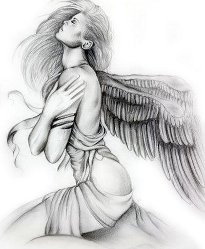 guardian angel warrior drawings - Google Search