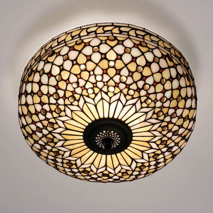 kensington tiffany collection mille feux tiffany flush ceiling light for low ceilings