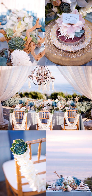 Beach Chic Wedding Decor