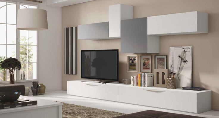 Las 25 mejores ideas sobre salas de estar modernas en - Muebles salon originales ...