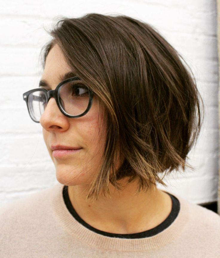 50 super süße Looks mit kurzen Frisuren für runde Gesichter –  – #Kurzhaarfrisuren