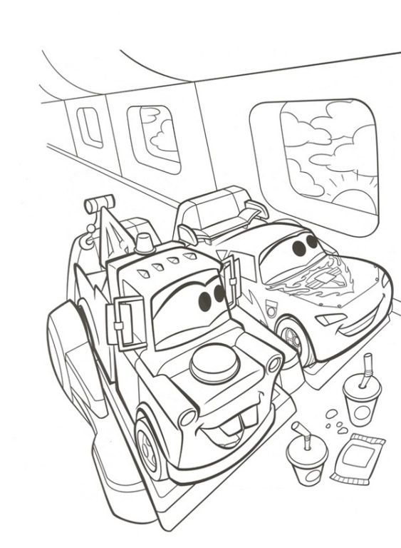 Disney Cars 2 Coloring Pages and Printables For Kids