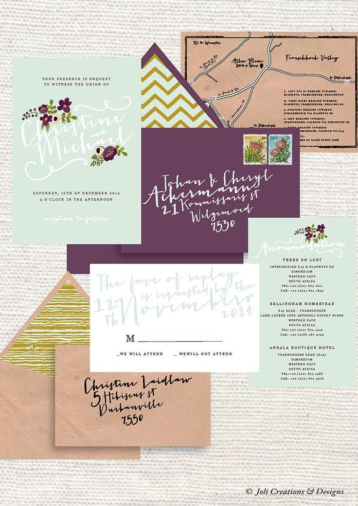 Earthchild Inspired Wedding Stationery #makeitamomenttoremember