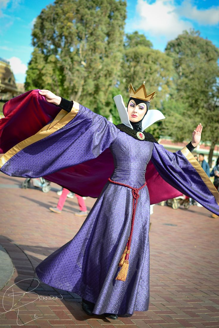 The Evil Queen from Snow White and the Seven Dwarfs. Her unofficial name is Queen Grimhilde.