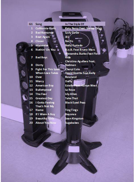 karaoke no 1s CD1