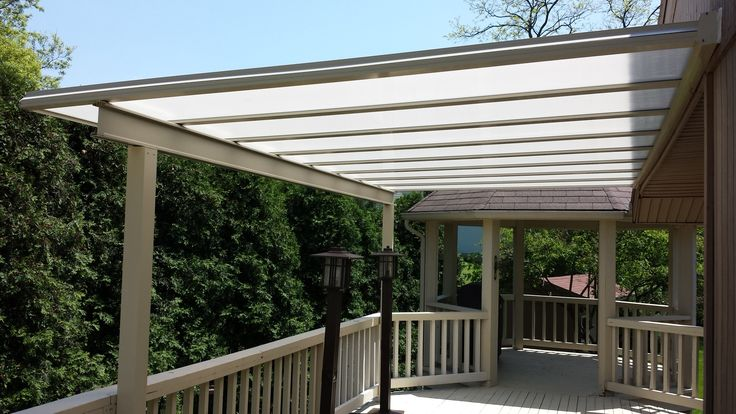 Keep your deck in use all year and in all weather with a Bright Cover!