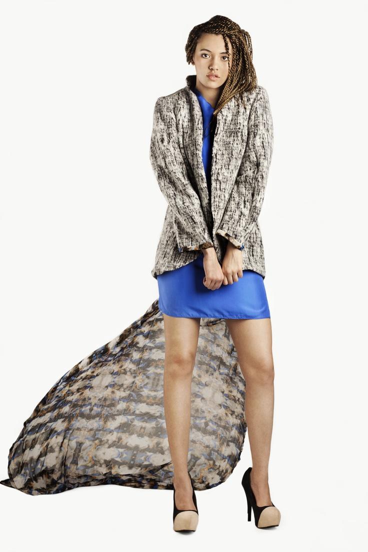 Fashion and Textile Design: Katherine Luken [photographer Justyna Kloch retoucher Liliya Ivanova]
