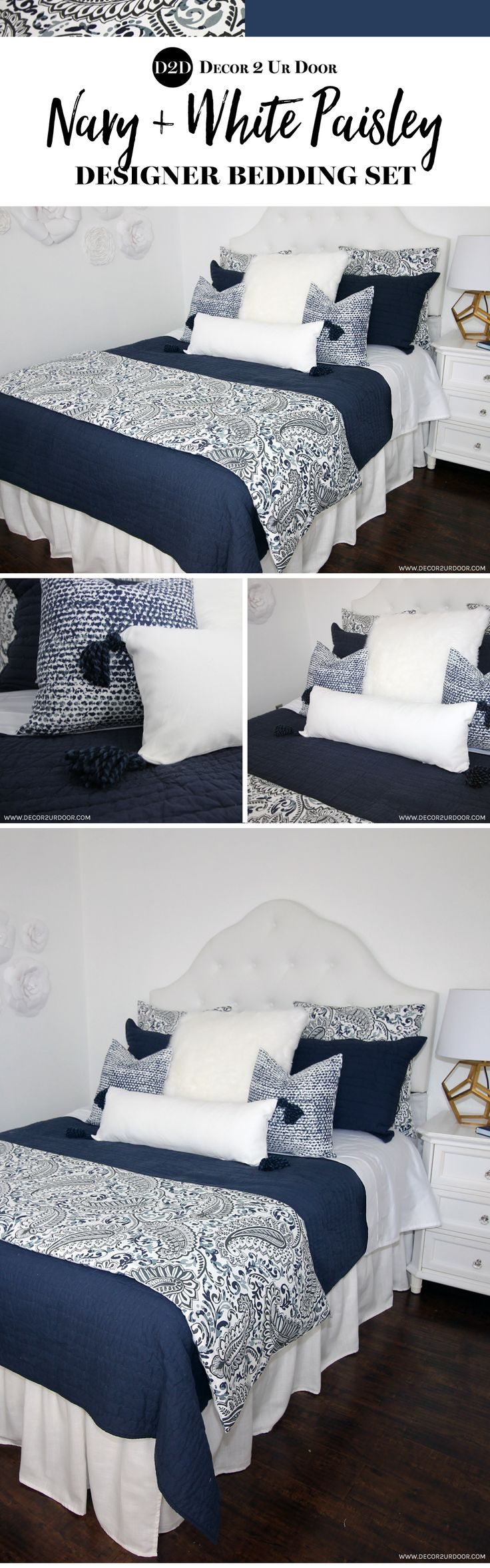 Best 25+ Navy master bedroom ideas on Pinterest | Navy bedroom ...