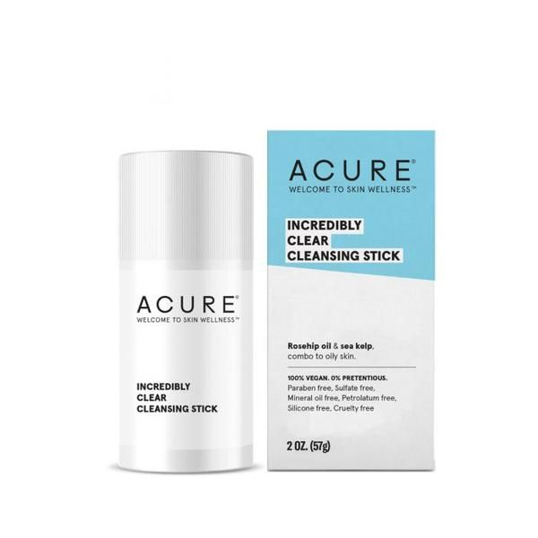 Acure Incredibly Clear Cleansing Stick - 57g