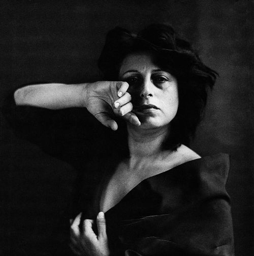 anna magnani, by richard avedon, 1953
