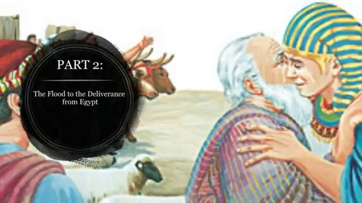 Part 2 - The Flood to the Deliverance from Egypt  This video has been made from the Watchtower Society's publication of a book of children's bible stories. It can be downloaded from the official site. You can download the story in PDF by cicking on this link:  http://www.jw.org/en/publications/boo... The images and the audio all belong to the Watchtower Society of New York.
