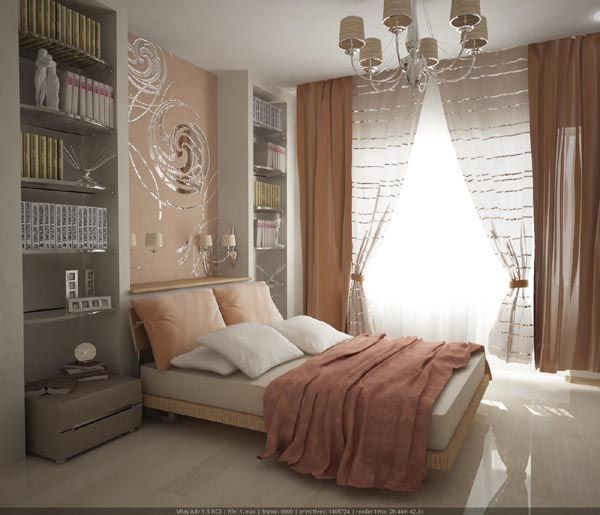 in wall bedroom headboard designs | ... of models of mirrors in bedroom – 3 bedrooms with incredible design