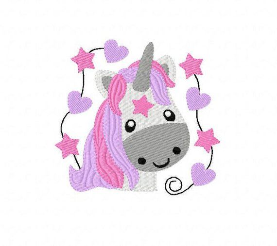 Stickdatei Stickmuster Pferd Einhorn Marika Embroidery Patterns Embroidery Files Embroidery