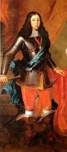 Retrato de D. Alfonso VI de Portugal  (1643-1683)