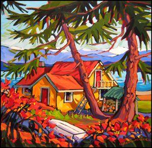 "Canada ~ Greta Guzek ~ ""Warm Light, Cool Thought"""