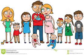 10 best big family images on pinterest big family photos large rh pinterest com big and small family clipart big family picture clipart