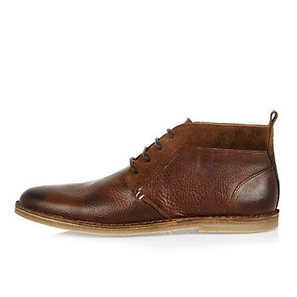 1000  ideas about Mens Leather Chukka Boots on Pinterest   Leather ...