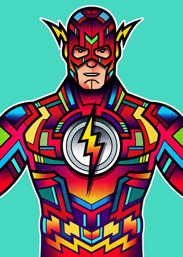 Superheroes - Created by Van Orton DesignYou can find more of their excellent artwork on Tumblr, Facebook, orTwitter.
