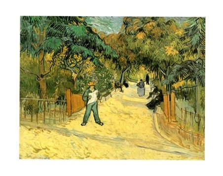 Giardini Pubblici Vincent Van Gogh #impressionism
