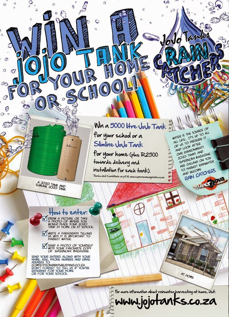 The most exciting competition of the year is here! Win a JoJo Tank for your home or school! Enter today!