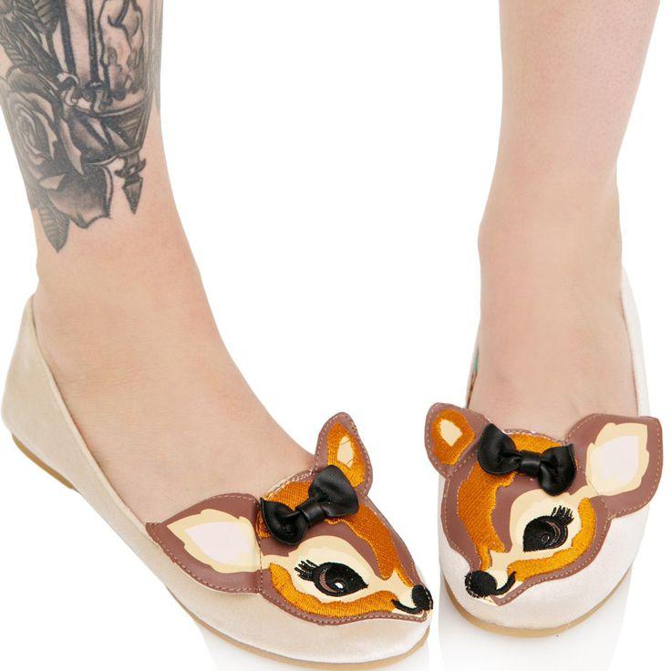 Iron Fist Deer Me Flat Shoes