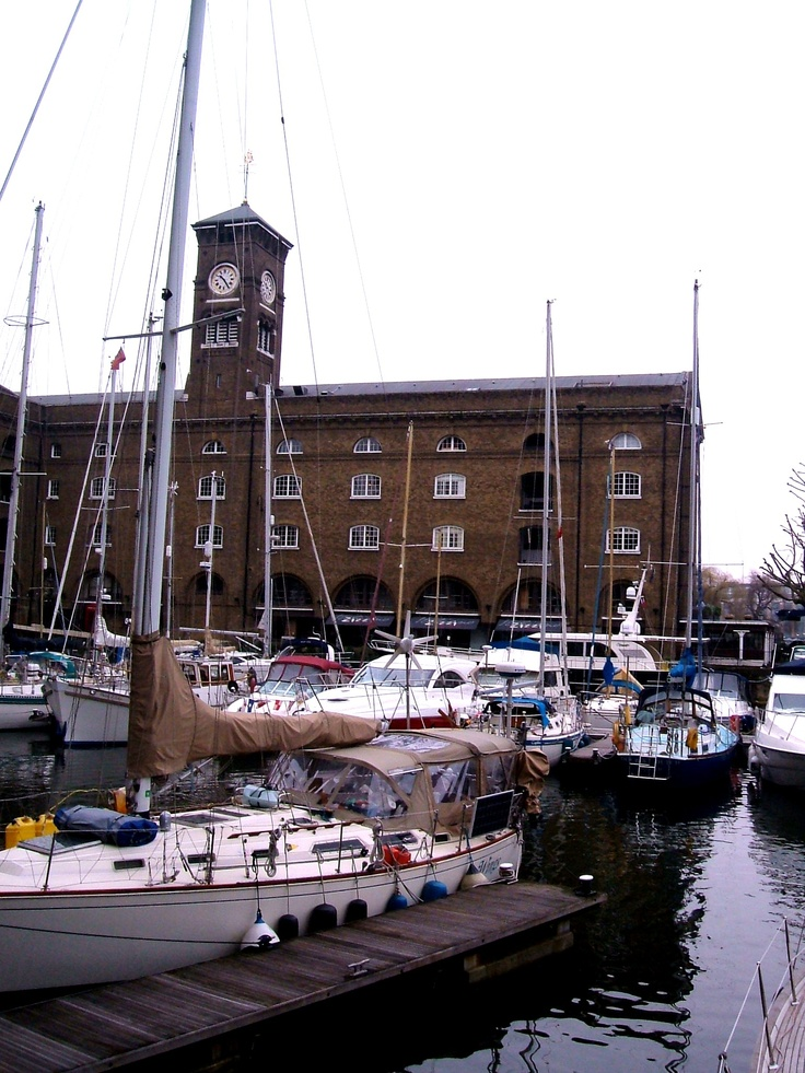 St Katharine's Docks, with Ivory House in the background
