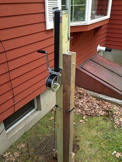 DIY Push-Up Antenna Mast