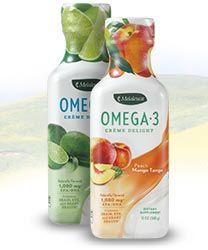 yummy omega-3 oils in a creamy delightful supplement ~ take one tablespoon a day (no fishy taste!) http://www.melaleuca.com/CherylT