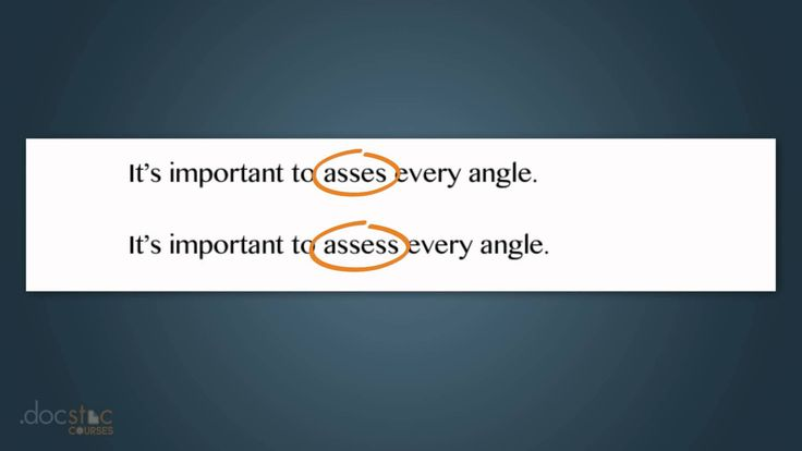 Mistakes That Spell Checker Won't Catch - Business Writing & Grammar