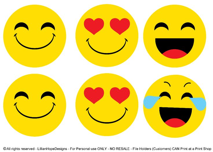 http://lillianhopedesigns.com/emoji-party-free-emoji-printables/