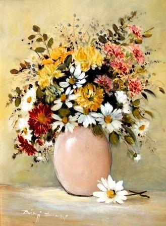 Bényi Emese: Virág csendélet